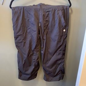 Lululemon cargo Capri pants. So soft! Lightweight
